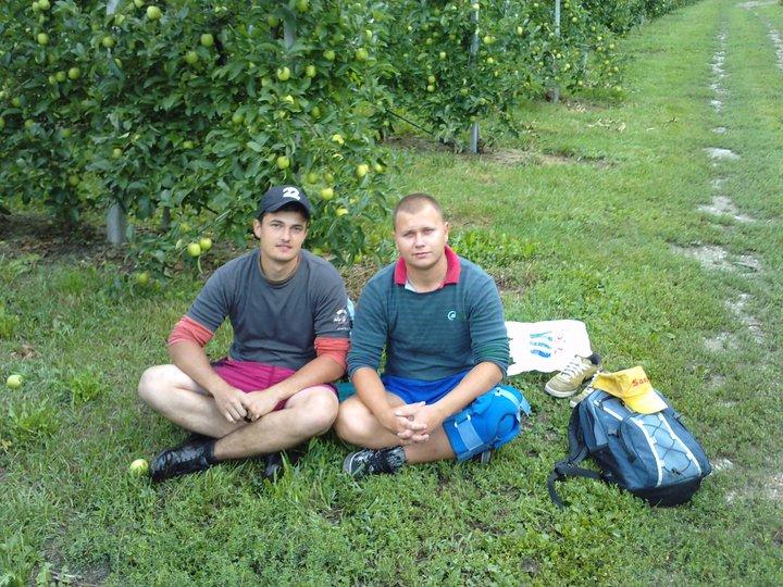 Patrik a Tomáš na pretrhávke
